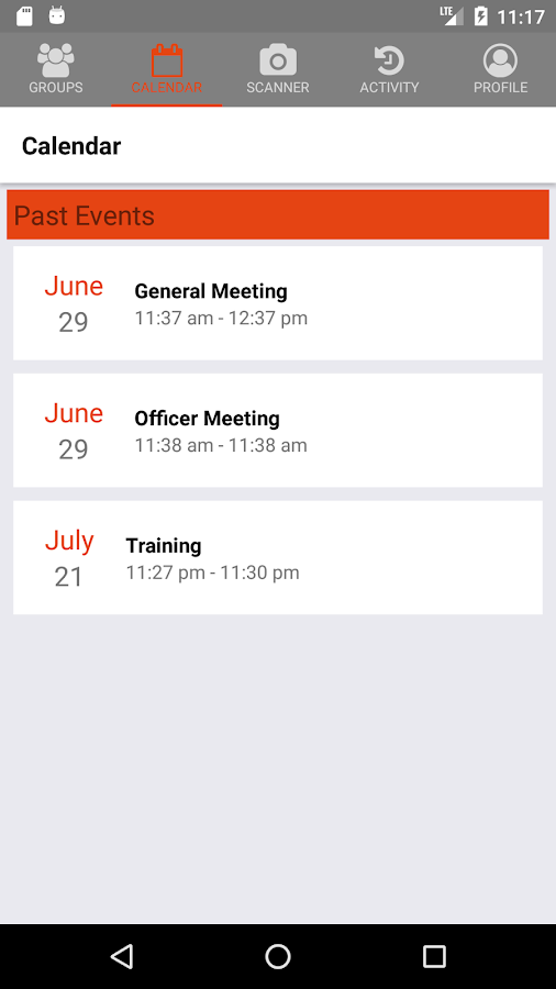 Scanned - Attendance Tracking- screenshot