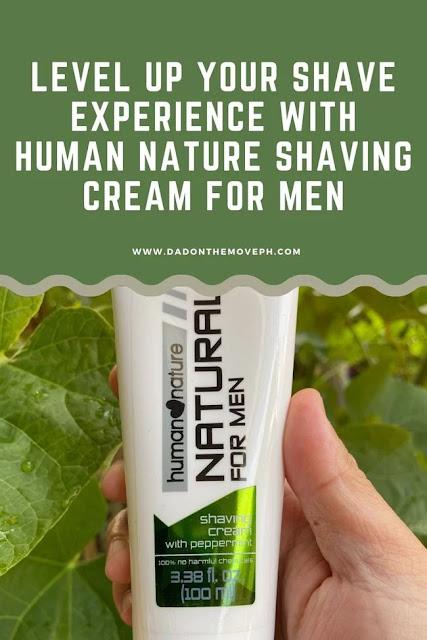 Human Nature Shaving Cream for men review