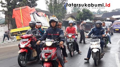 2 Kendaraan Berat Tabrakan di Jalan Sukabumi - Bogor