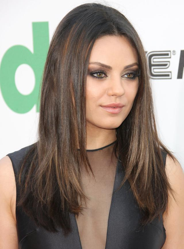Mila kunis hairstyles 2017 looks real hair cut shweshwe sresses