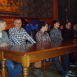 20131223 - huldiging kampioenen 2013 door burgemeester en schepenen