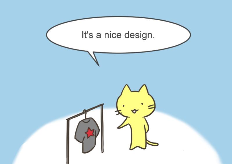 It s a nice design