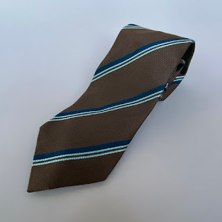 Gucci Striped Silk Tie
