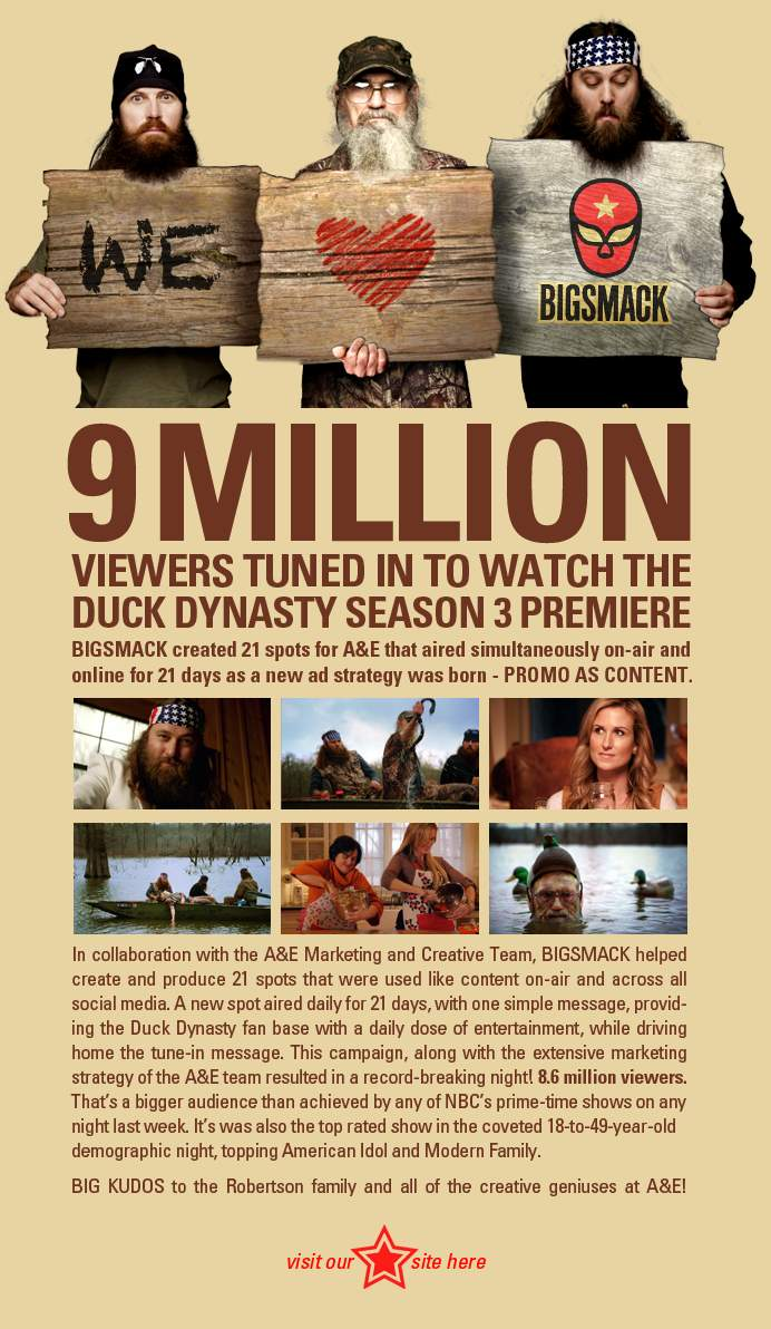 How Big Is Duck Dynasty — 9 Million Viewers Kinda Big