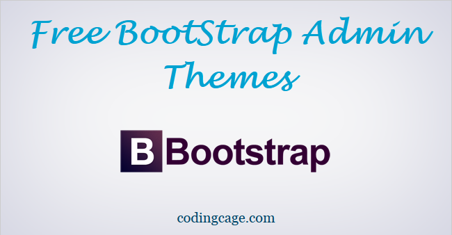 15 Free Bootstrap Admin Themes Demo and Download