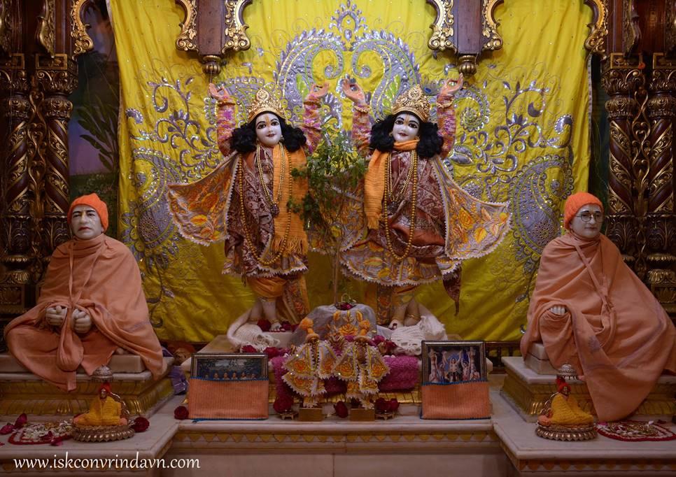 ISKCON Vrindavan Mangla Deity Darshan 28 Jan 2016 (1)