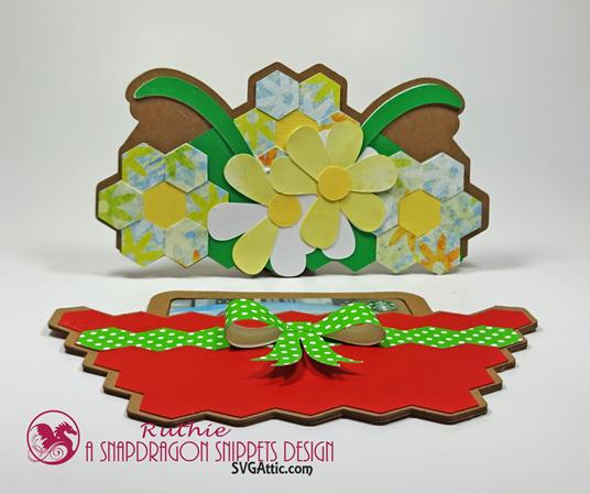 Garden basket hidden gift card - SnapDragon Snippets - Ruthie Lopez  2
