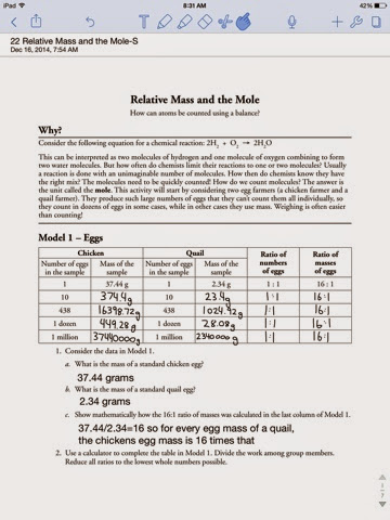 how to find relative mass