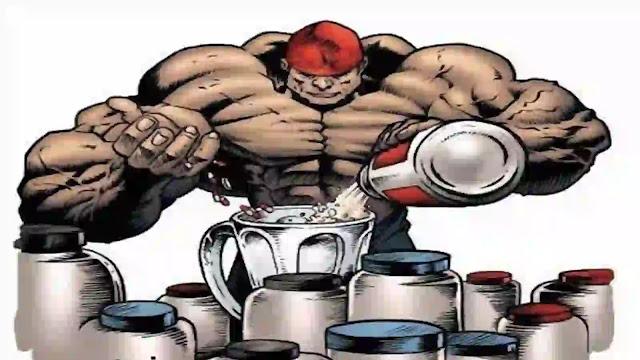 أنواع المكملات الغذائية  لتضخيم العضلات