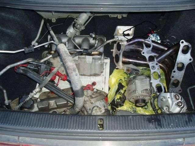 Двигатель 3S-GE 1995 года выпуска