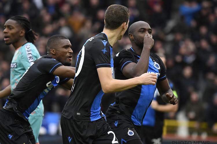 Service minimum pour Bruges, Charleroi laisse le podium au Standard