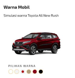 Toyota New Rush red