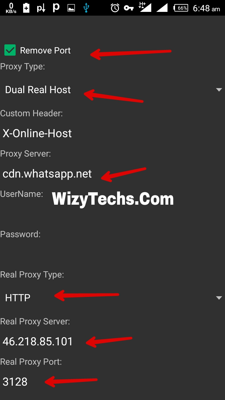 Psiphon real proxy