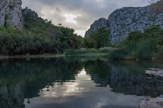 The beautiful Olympos valley