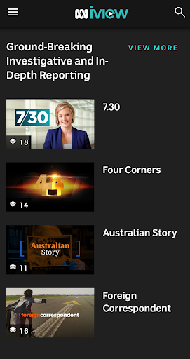 ABC iview 4.4.0 screenshots 2