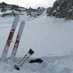 on quitte les skis a la fin