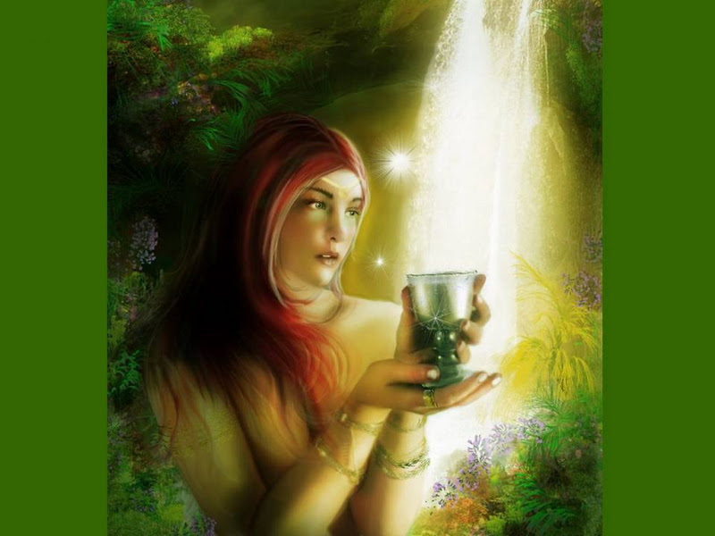 Cup Magic Of Life, Green Witches