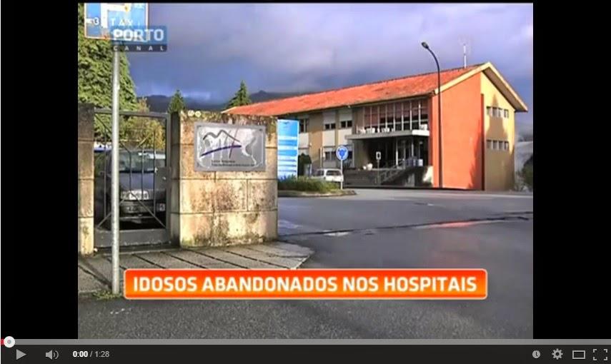 Dezenas de idosos são abandonados nos hospitais de Lamego, Vila Real, Chaves e Régua