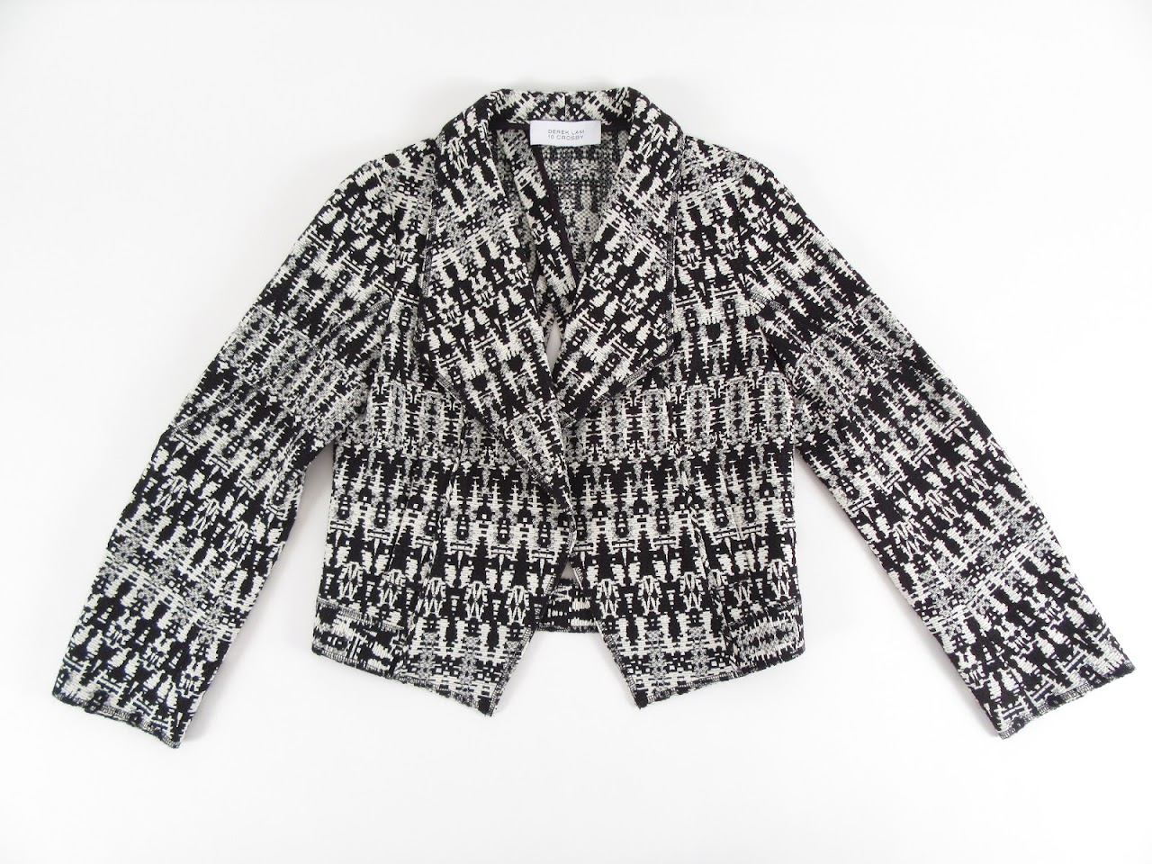 Derek Lam Open Back Knitted Blazer