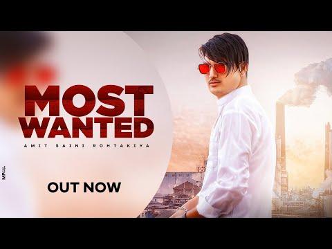 Most Wanted Amit Saini Rohtakiya Lyrics