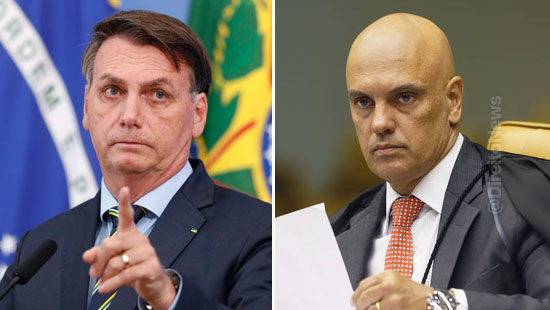 stf repudia impeachment moraes apresentado bolsonaro
