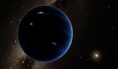 ilustração do Planeta Nove