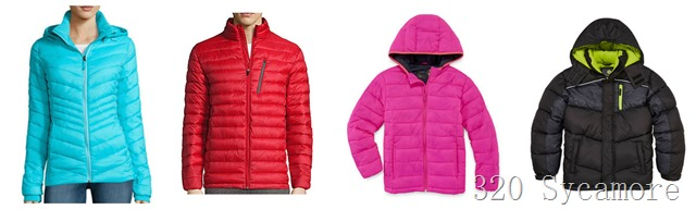 jcpenney puffer jackets sale