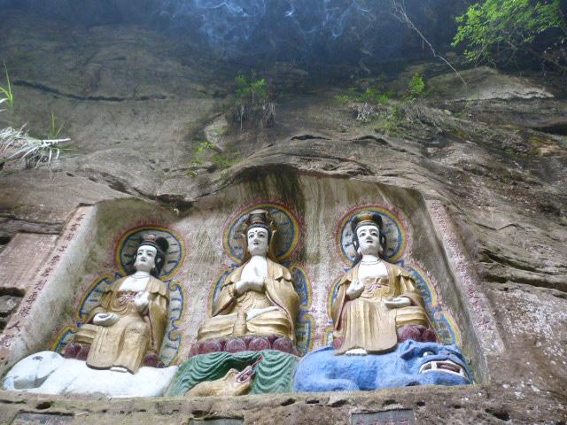 CHINE.SICHUAN.PING LE à 2 heures de Chengdu. Ravissant .Vallée des bambous - P1070633.JPG