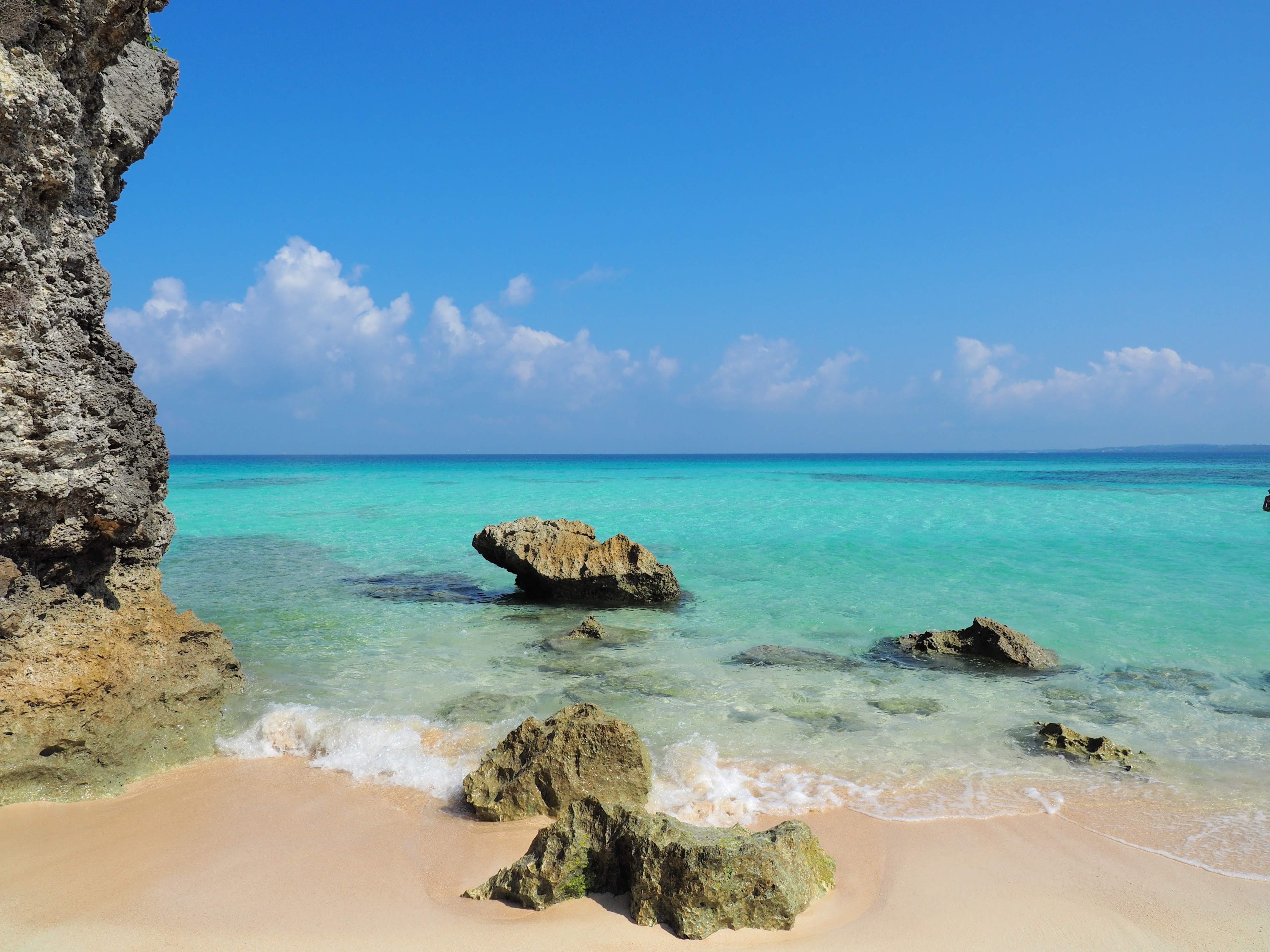 沖縄 宮古島一人旅 ー 砂山ビーチ 写真旅 一人旅の記録