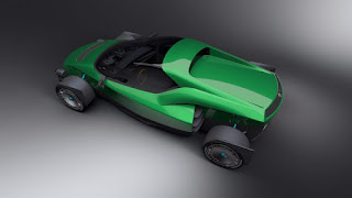 The outrageous 1-Megawatt electric Miss R Supercar