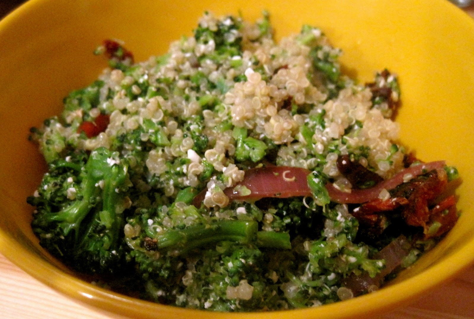 Kvell in the Kitchen: Double Broccoli Quinoa