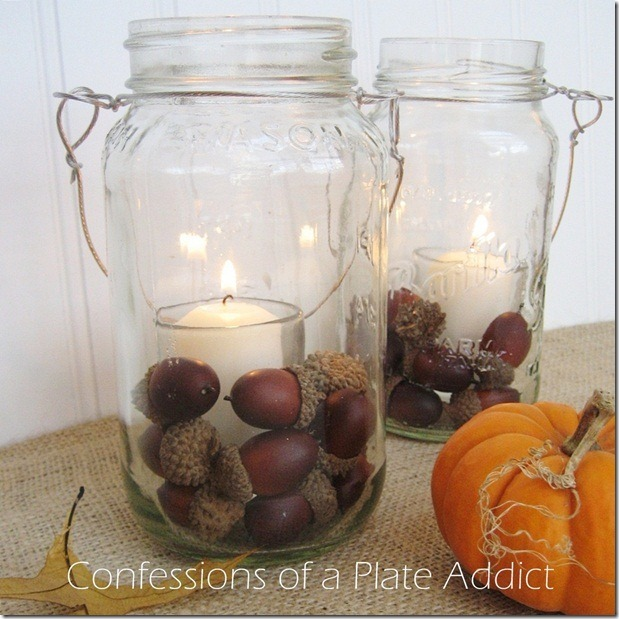 CONFESSIONS OF A PLATE ADDICT Pottery Barn Inspired Mason Jar Candles