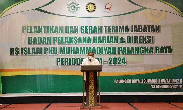 RSI PKU Muhammadiyah Berperan Membangun Kalteng