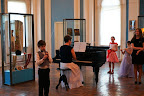 Musical improvisations with Elena Bogachenko's disciples, the Republican Boarding School of Music named after Sergei Rachmaninoff