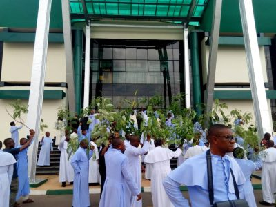 Big Trouble, S'East Shaking As Catholic Priests Enugu Marching Towards Enugu State Government House