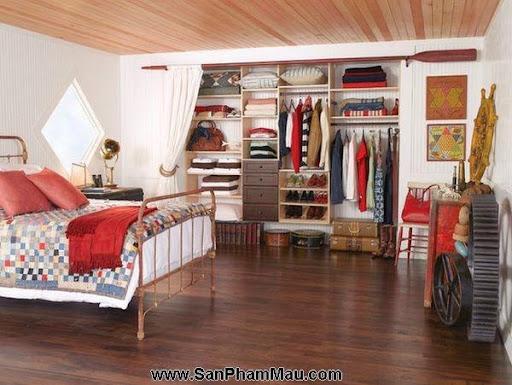 <strong><em>Thiết kế tủ quần áo</em></strong>: Khẳng định con mắt thẩm mỹ với tủ quần áo mở-2