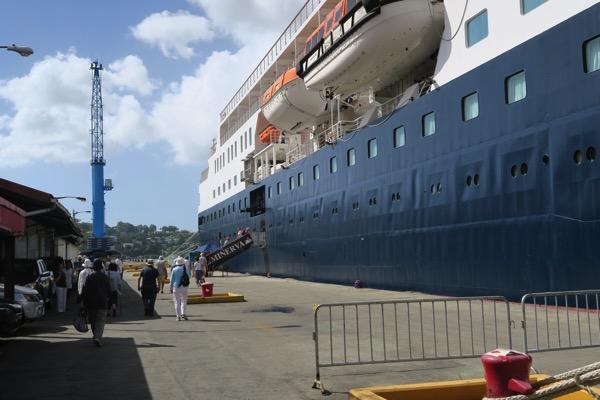 Boarding Minerva