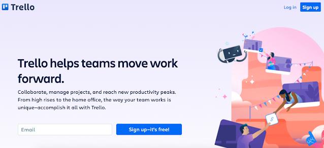 A maneira gratuita flexível e visual de organizar qualquer coisa com qualquer pessoa
