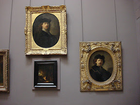 Rembrandt self portraits