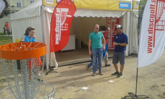 Putterfly Disc Golf am Tag des Sports 2015