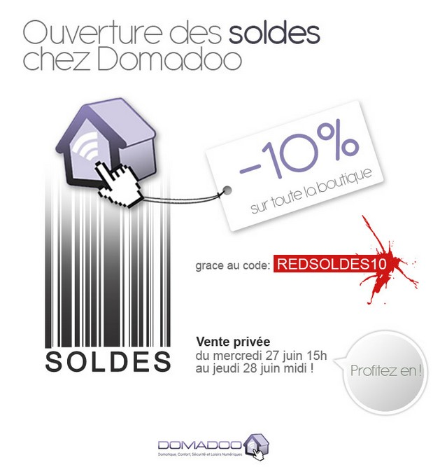 bon plan soldes chez domadoo. Black Bedroom Furniture Sets. Home Design Ideas