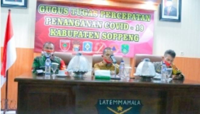 Penjagaan Perbatasan Kabupaten Soppeng Akan Diperpanjang dan Lebih Diperketat, 15 Juli - 4 Agustus 2020