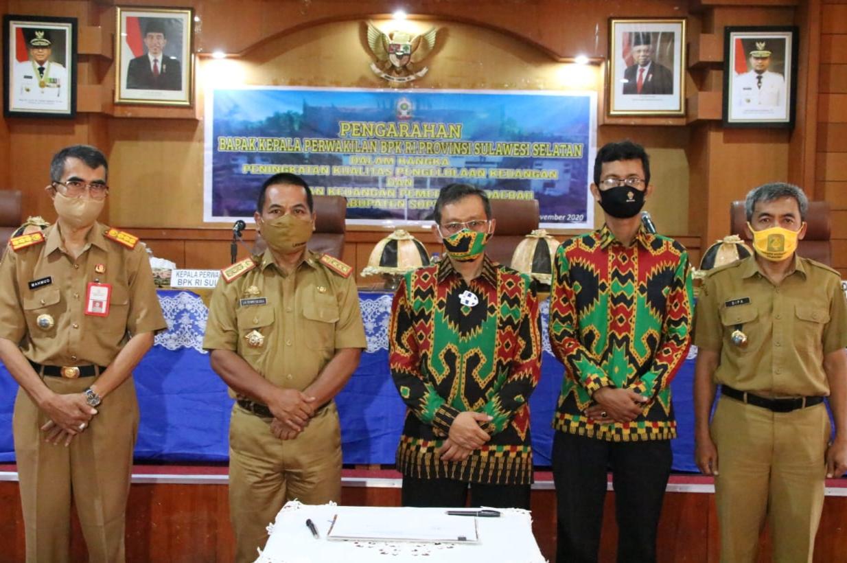 Soppeng Salah Satu Kabupaten yang Selalu Mendapatkan Penilaian WTP dari BPK RI