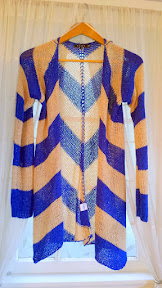Roxanna Chevron Open Knit Cardigan by TCEC, thanks to Stitch Fix
