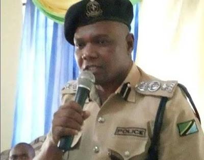 Tabora Regional Police Commander Emmanuel Nley. PHOTO | BMS