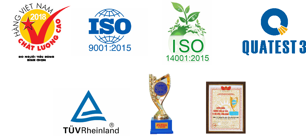 Giải thưởng & chứng nhận công ty TNHH Sơn Hiệp Phát đã đạt được
