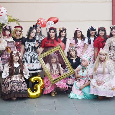 3er Aniversario de la comunidad Lolita Fashion Paraguay