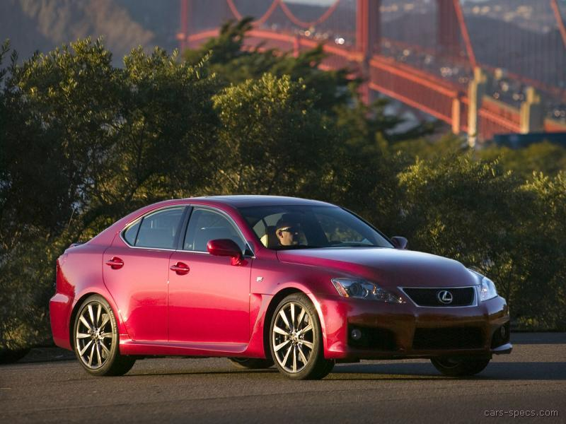 2008 lexus is f sedan specifications pictures prices. Black Bedroom Furniture Sets. Home Design Ideas