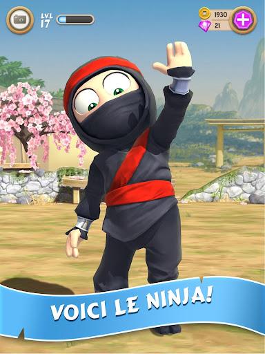 Clumsy Ninja  captures d'u00e9cran 1