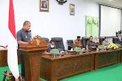 Pjs Bupati Soppeng Hadiri  Rapat Paripurna Pembicaraan TK I Tentang Penyampaian Penjelasan Atas 3 Ranperda